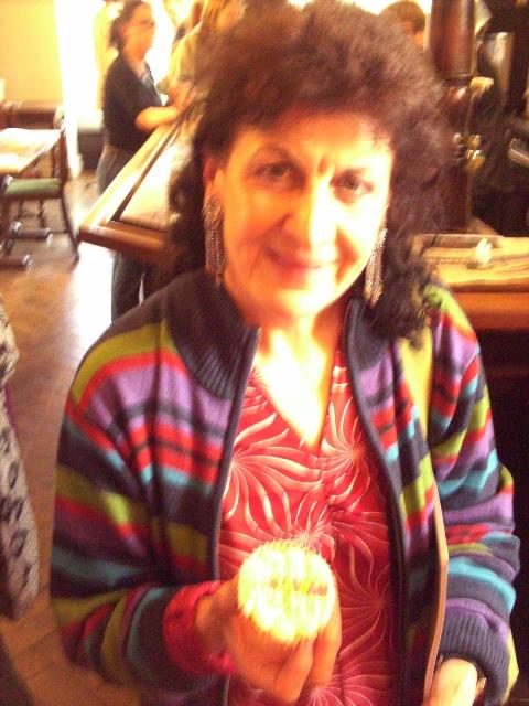 Maggie O'Sullivan - April 09