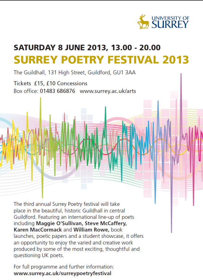 Surrey Poetry Festival